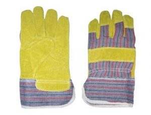 Hercules Jeans Leather Gloves 10″